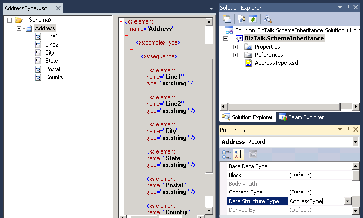 Get field name, data type and size of database table |Schema Xsd Data Types