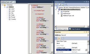 BizTalk - Schema Data Structure Type